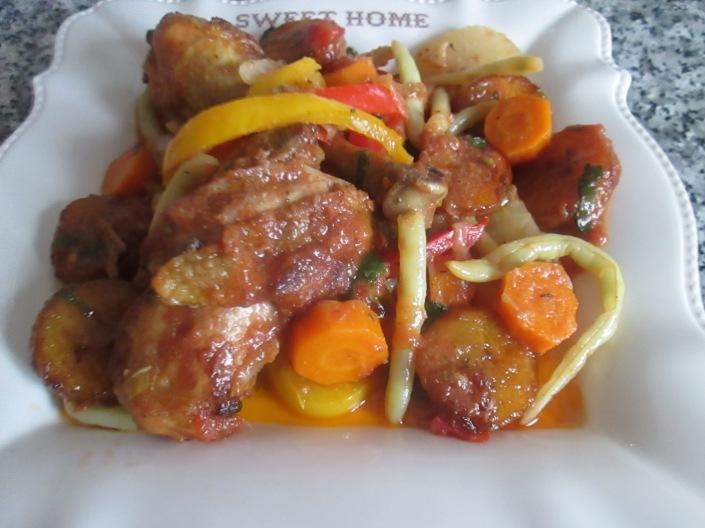 Poulet Dg Recette Camerounaise Cuisine Africaine Creole Du Sud